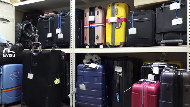 Why is the London luggage storage facility a good option?